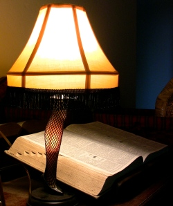 leg lamp and dictionary