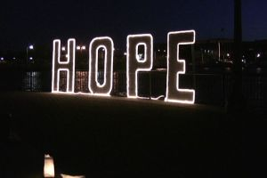 relay for life sign