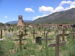 Cemetery at Taos Pueblo